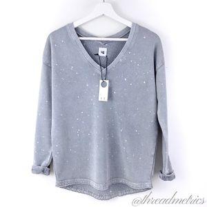 T + T by Stitch Fix • Bleached Popover Sweatshirt